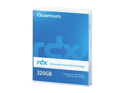Quantum 320GB Uncompressed RDX Cartridge, MR032-A01A, 12099634, Removable Drive Cartridges & Accessories