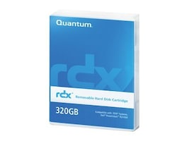 Quantum 1TB Uncompressed RDX Cartridge, MR100-A01A, 12218234, Removable Drive Cartridges & Accessories