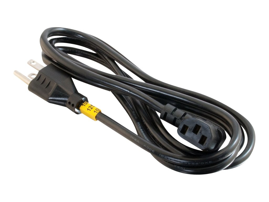 C2G Universal Right Angle Power Cord 6ft