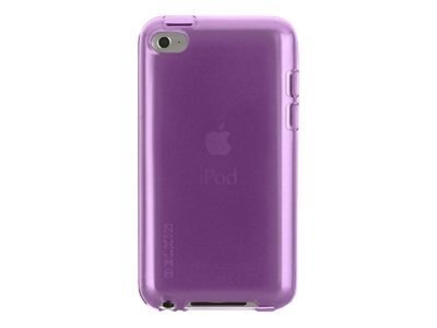 Belkin Essential 013 Silicone Case for iPod Touch 4G, Purple Lightning, F8W013EBC01, 13625771, Carrying Cases - iPod