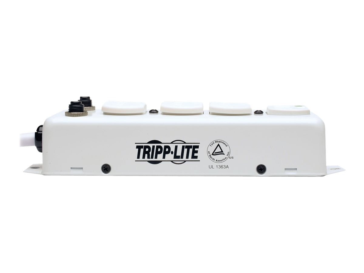 Tripp Lite Medical-Grade Power Strip, UL 1363A Compliant, (4) 15A Outlets, Safety Covers, 7ft Cord