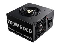 Enermax 700W 80+ Gold Dual Active Fan Design Patented FMA