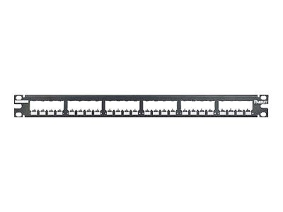 Panduit 24-Port All Metal Modular Patch Panel, CP24BLY, 7292405, Patch Panels