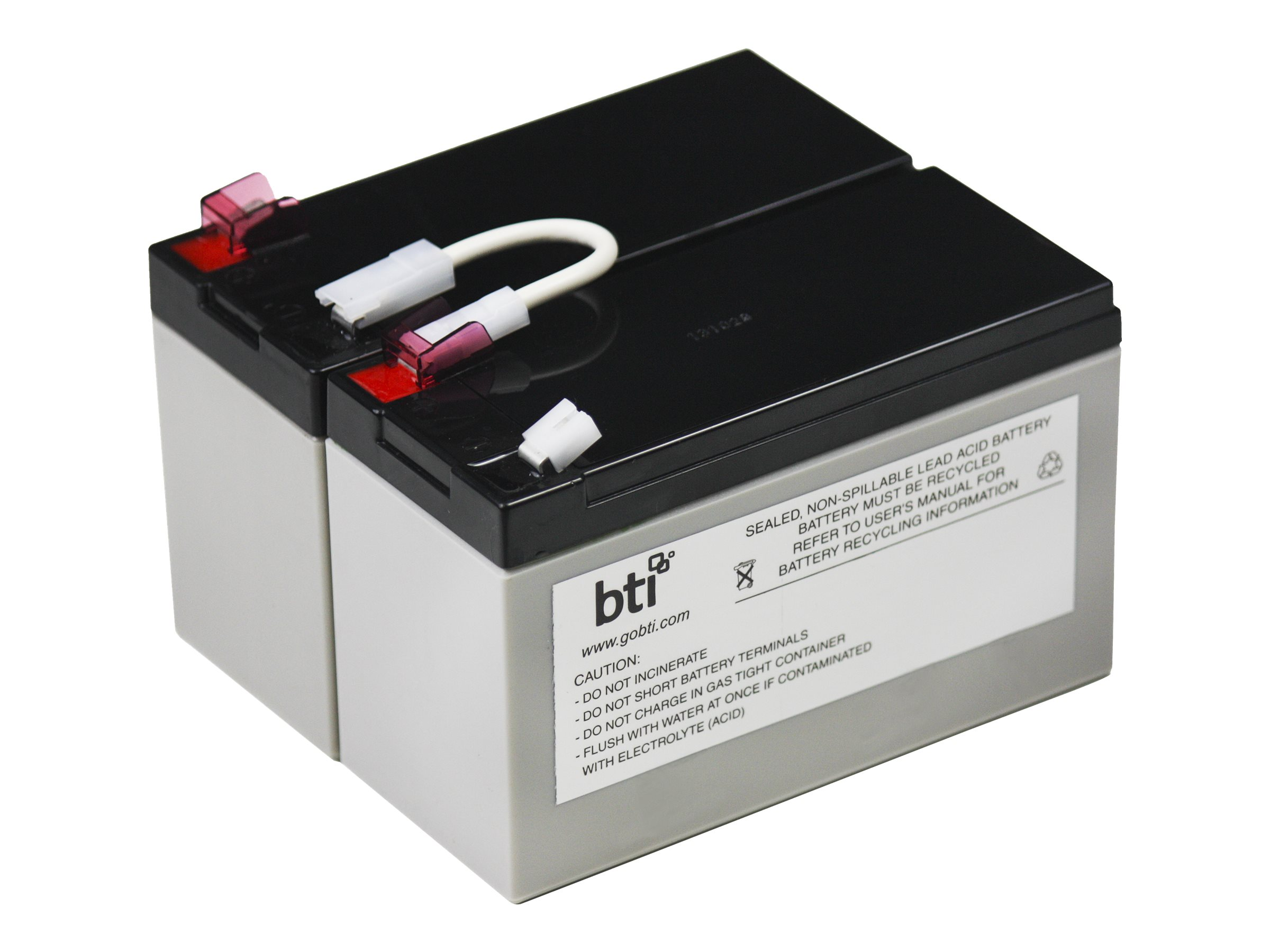 BTI Replacement Battery Cartridge APCRBC109 for BX1300LCD UPS, APCRBC109-SLA109