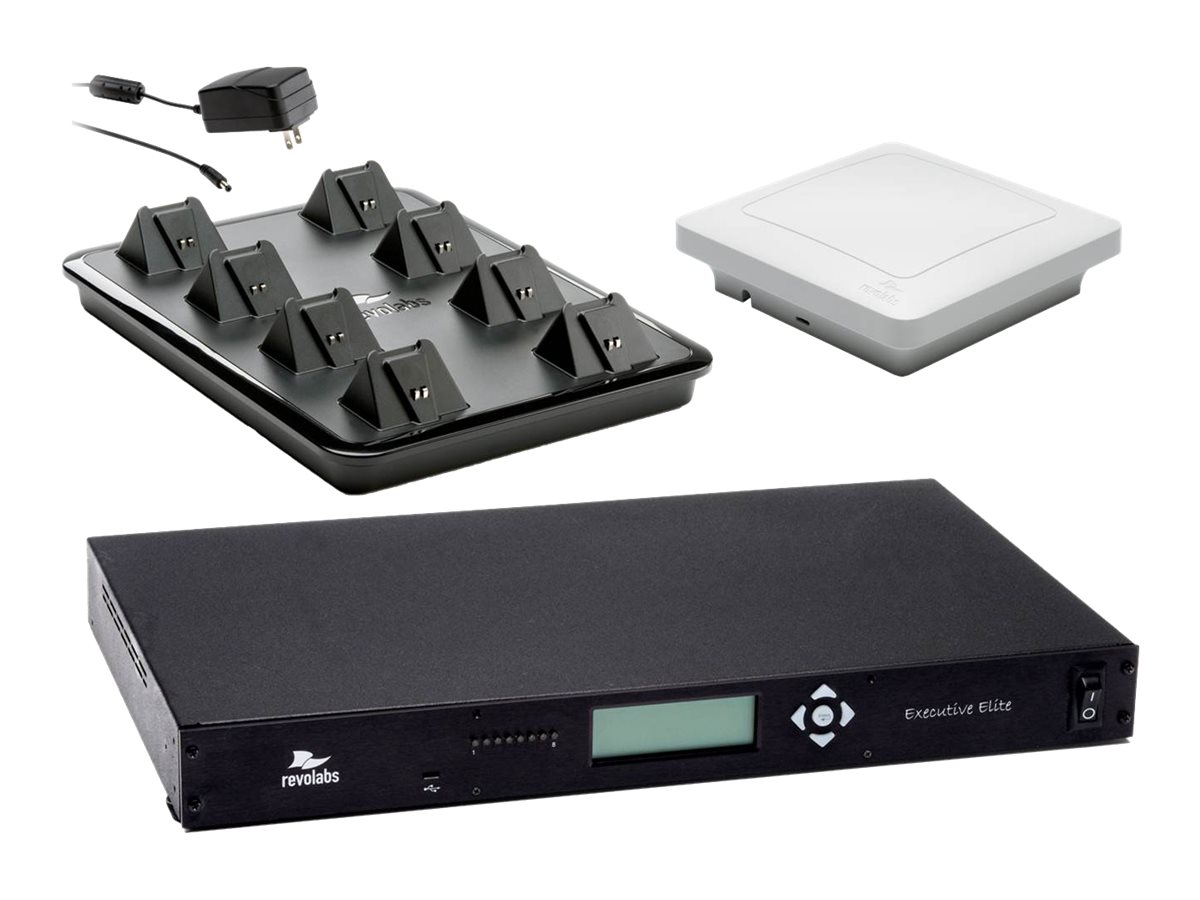 Revolabs 8-Channel Elite System, 01-ELITEEXEC8, 17549817, Microphones & Accessories