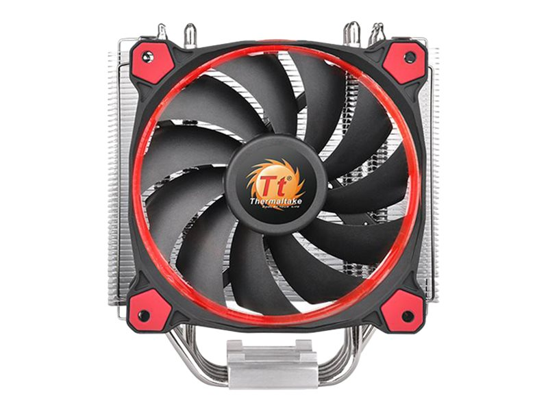 Thermaltake Riing Silent 12 CPU Cooler, Red