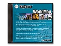Garmin MapSource WorldMap, 010-10215-01, 249207, Global Positioning Systems