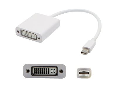 ACP-EP Mini DisplayPort to DVI-I M F Adapter, White, 8, MB570Z/B-AO