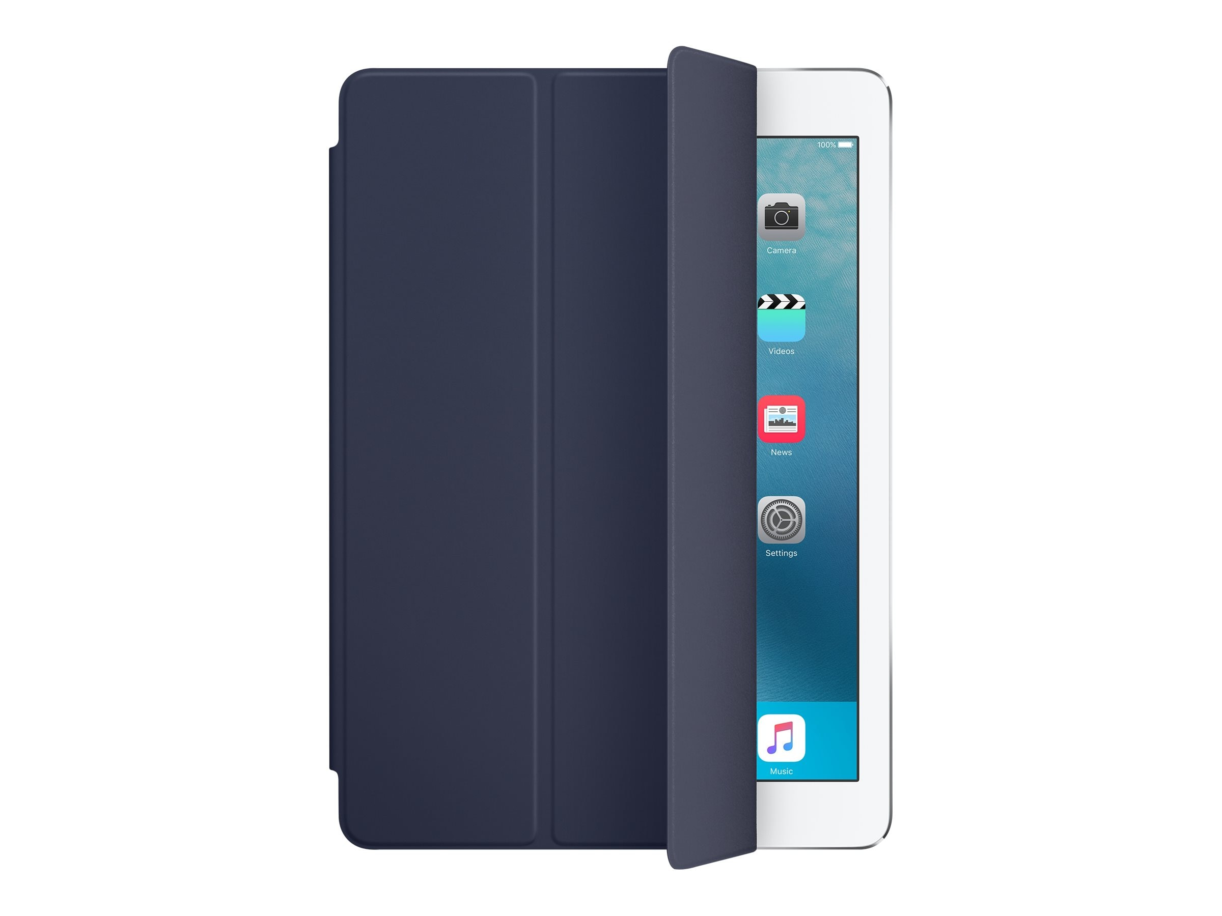 Apple Smart Cover for iPad Pro 9.7, Midnight Blue, MM2C2AM/A, 31812052, Carrying Cases - Tablets & eReaders