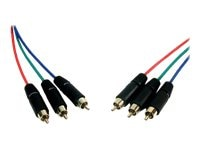 Comprehensive HR Pro Series 3-RCA Component Video Cable, 10ft