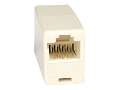 Tripp Lite RJ-45 F F Straight Through Modular In-line Telephone Coupler, N033-001, 4900701, Cable Accessories