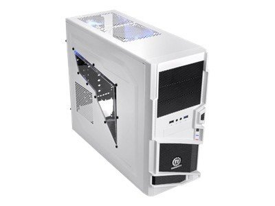 Thermaltake Chassis, Commander MS-I Snow Edition Mid Tower, ATX, 3x5.25, 5x3.5, 7xSlots, Side Window, VN40006W2N, 13822011, Cases - Systems/Servers