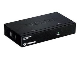 TRENDnet 2-Port Stackable Video Splitter, TK-V201S, 12535441, Video Extenders & Splitters