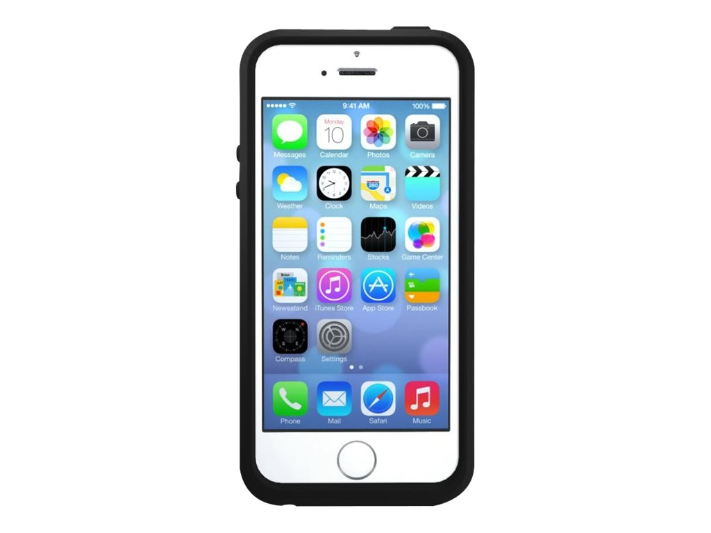 OtterBox Symmetry Series for iPhone 5 5S, Black, 77-37053, 17705998, Carrying Cases - Phones/PDAs