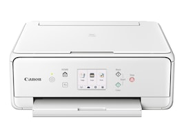 Canon PIXMA TS6020 Wireless Inkjet All-In-One Printer - White, 1368C022, 33535933, MultiFunction - Ink-Jet