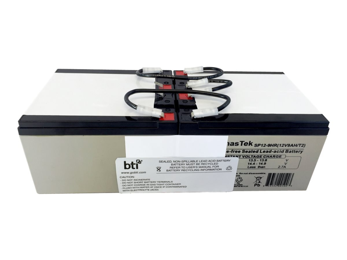 BTI RBC94 3U Replacement Battery for Tripplite UPS SMART5000TEL3U SMART5000XFMRXL, RBC94-3U-BTI
