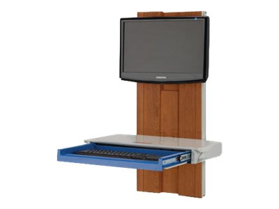 Rubbermaid A3700PTB for Cabinet Finish, 1799603, 12896051, Computer Carts - Medical
