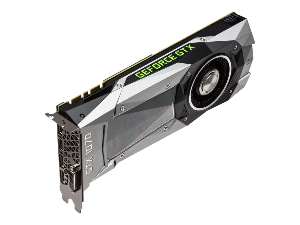 eVGA GeForce GTX 1070 PCIe 3.0 x16 Founders Edition Graphics Card, 8GB GDDR5, 08G-P4-6170-KR