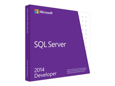 Microsoft SQL Server Developer Edition 2014 DVD 1 Client, E32-01098, 17321329, Software - Database