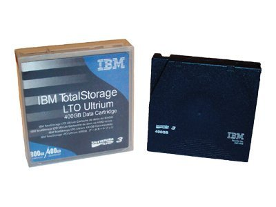 IBM 400 800GB LTO-3 Ultrium Tape Cartridge, 24R1922