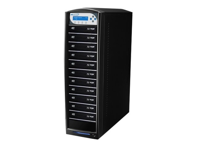 Vinpower SharkBlu Blu-ray DVD CD USB 3.0 1:11 Duplicator w  Hard Drive, SHARKBLU-S11T-BK, 15128904, Disc Duplicators