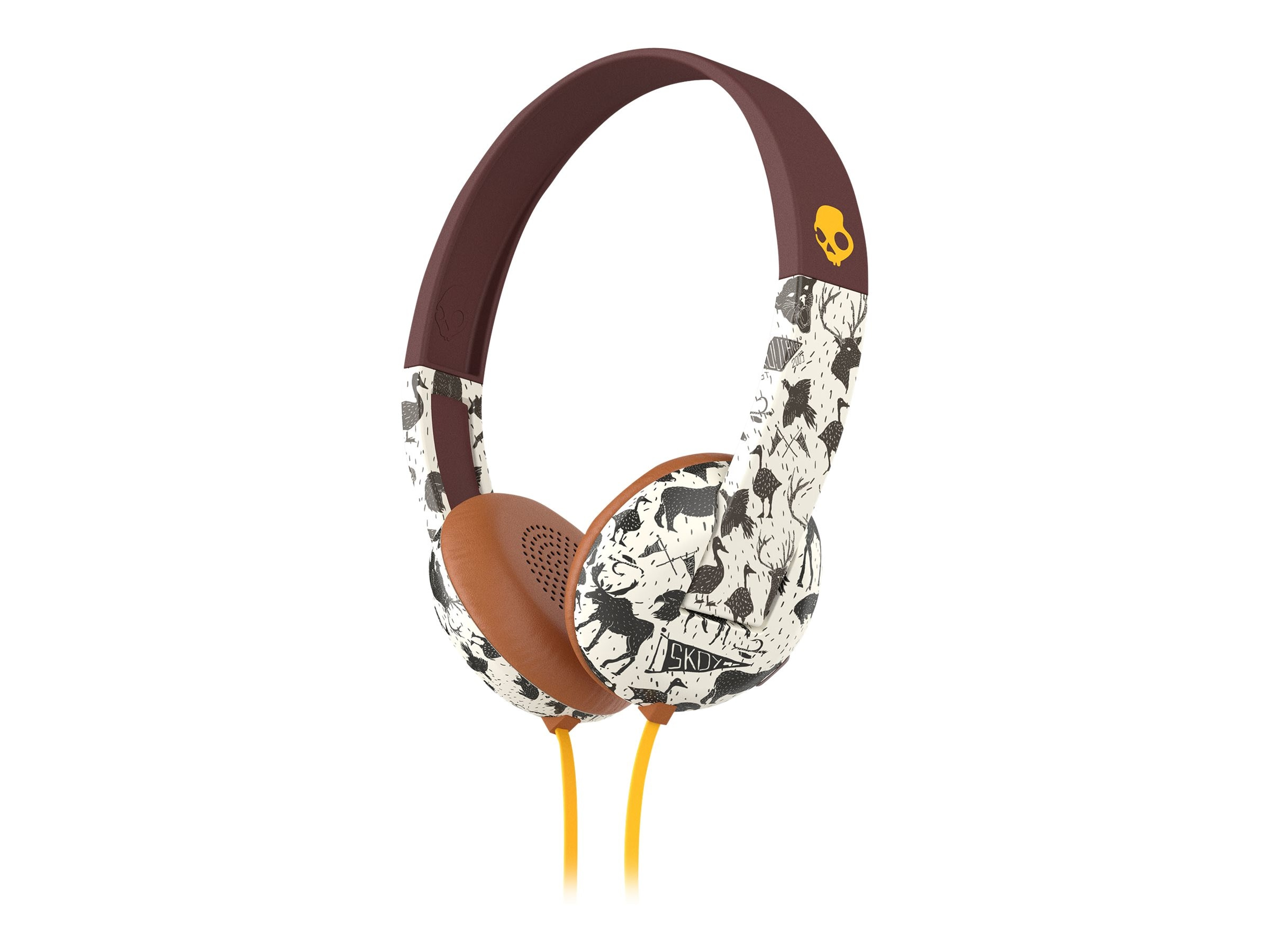 Skullcandy Uproar Headphones - Explore Animal Mustard, S5URHT-452, 23836791, Headsets (w/ microphone)