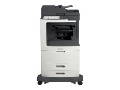 Lexmark MX811dfe Monochrome Laser Multifunction Printer, 24T7420, 14908378, MultiFunction - Laser (monochrome)