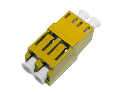 ACP-EP Female LC to Female LC MMF OM3 Duplex Fiber Optic Adapter, ADD-ADPT-LCFLCF3-MD, 17487302, Adapters & Port Converters