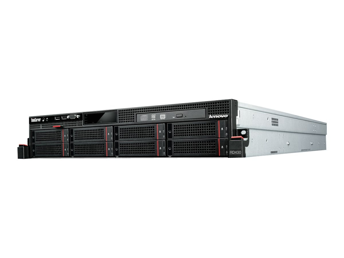Lenovo TopSeller ThinkServer RD430 Intel 2.1GHz Xeon, 3070C8U, 14637580, Servers