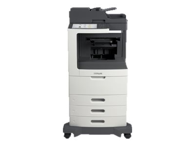 Lexmark MX811dtfe Monochrome Laser Multifunction Printer, 24T7424
