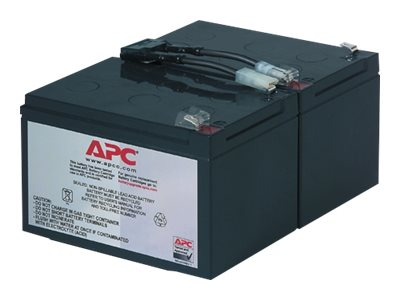 APC Replacement Battery Cartridge #6 for SU700, SU1000, SU1000NET, SM1500RM models, RBC6
