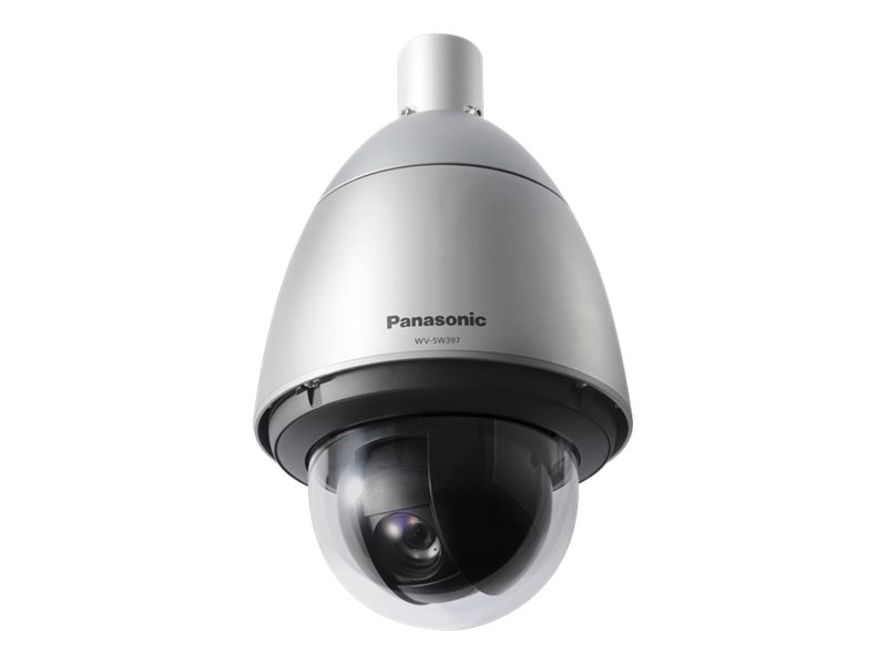 Panasonic 2.4MP Weather Resistant Outdoor HD PTZ Network Camera, WV-SW397A, 31807763, Cameras - Security