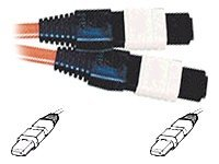 C2G MTP 62.5 Plenum-Rated Multimode Fiber Assembly Ribbon Cable, 15m, 33089, 6516180, Cables