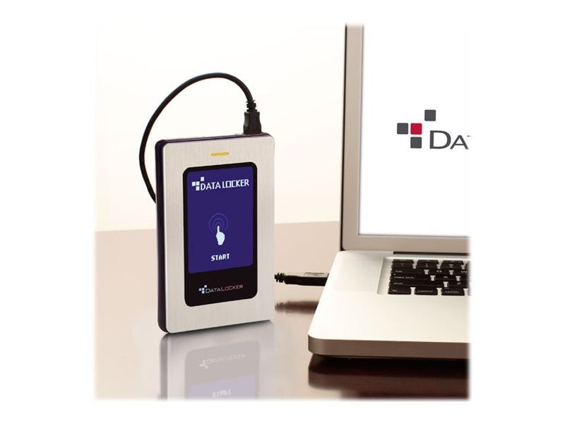 Datalocker 256GB  DL3 USB 3.0 Encrypted External Solid State Drive for Mac, DL256V3M, 22251572, Solid State Drives - External