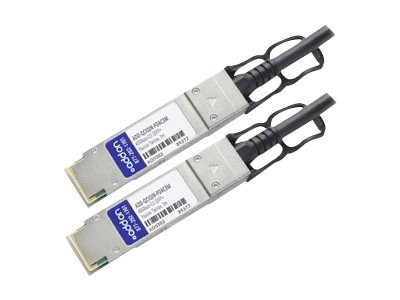 ACP-EP 40GBase-CU QSFP+ to QSFP+ Passive Twinax Direct Attach Cable, 3m, ADD-QCIQIN-PDAC3M