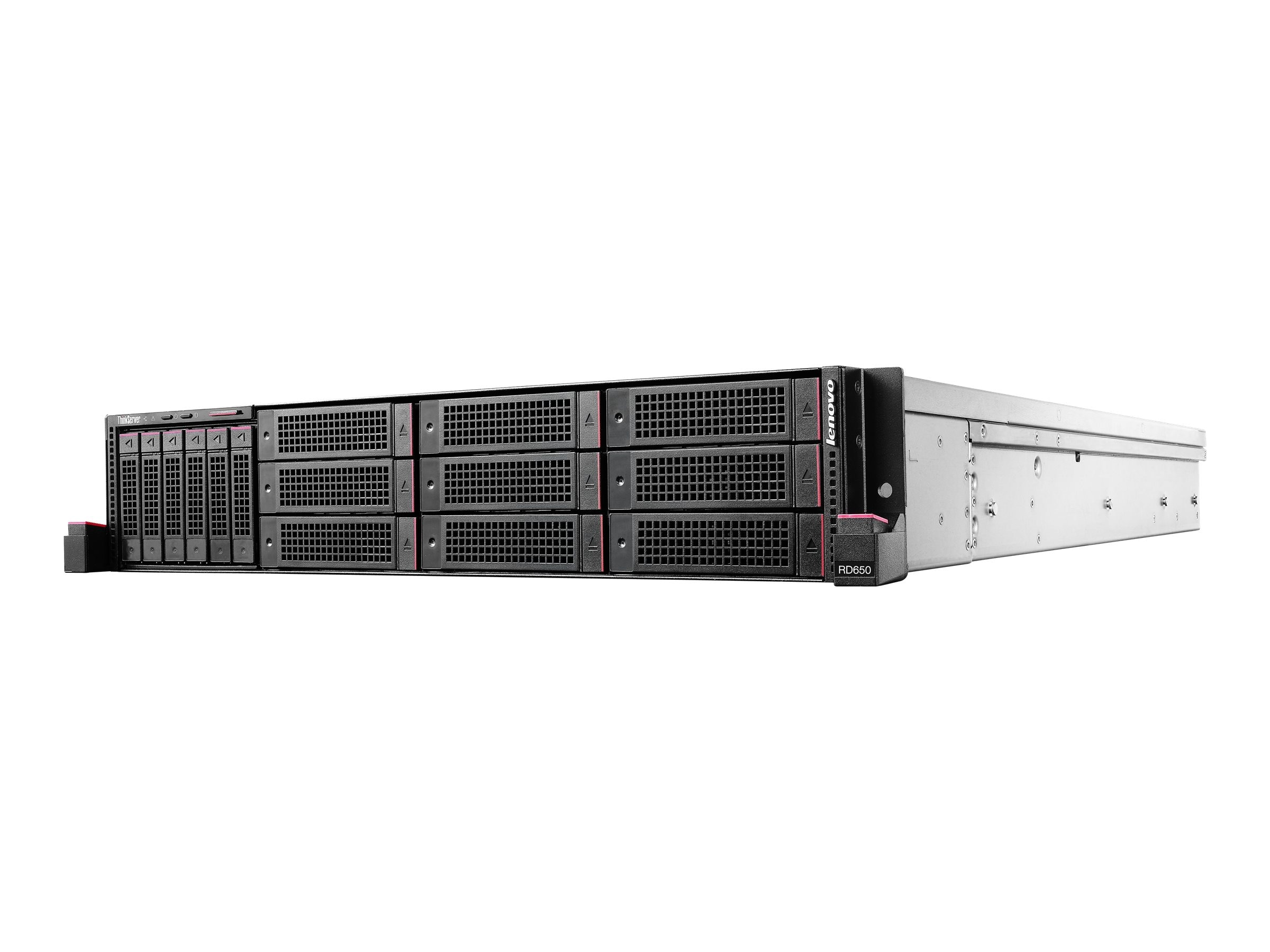 Lenovo TopSeller ThinkServer RD650 Intel 2.6GHz Xeon, 70D4000FUX, 17809711, Servers