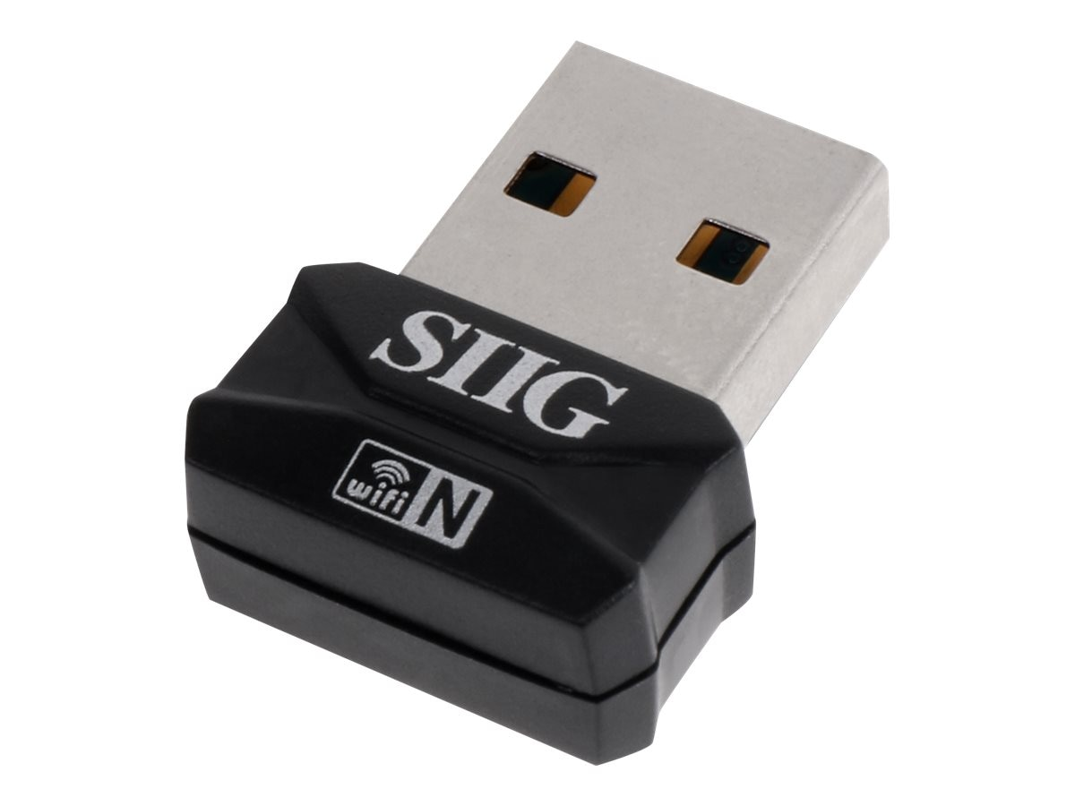 Siig Mini USB 150Mbps Wireless N Adapter