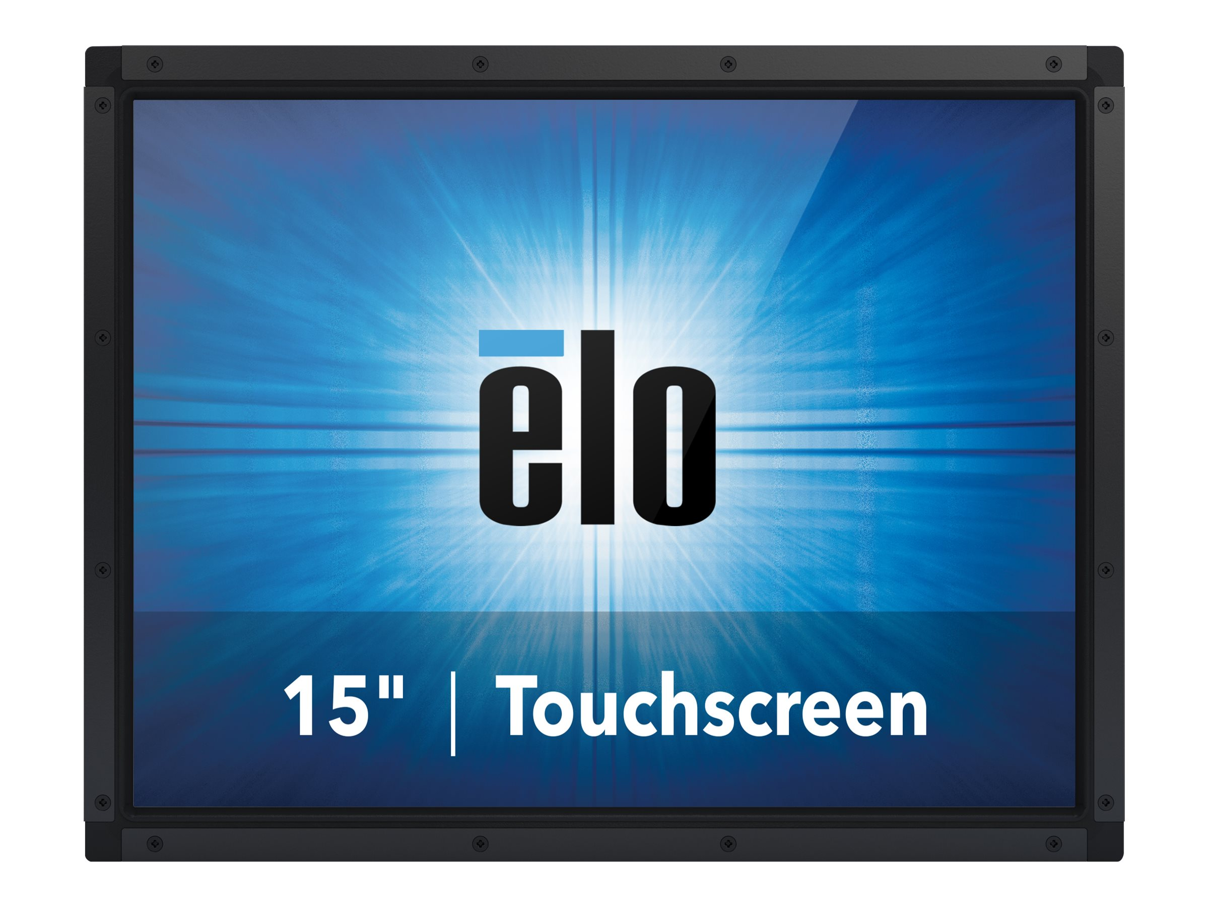 ELO Touch Solutions 15 1590L LCD IntelliTouch Monitor, Black