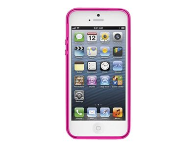 Belkin Grip Candy Sheer Case, Day Glow Blacktop for iPhone 5, F8W138TTC03