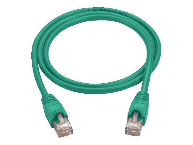 Black Box CAT5E 26AWG 100MHz UTP Snagless Patch Cable, Green, 4ft, CAT5EPC-004-GN