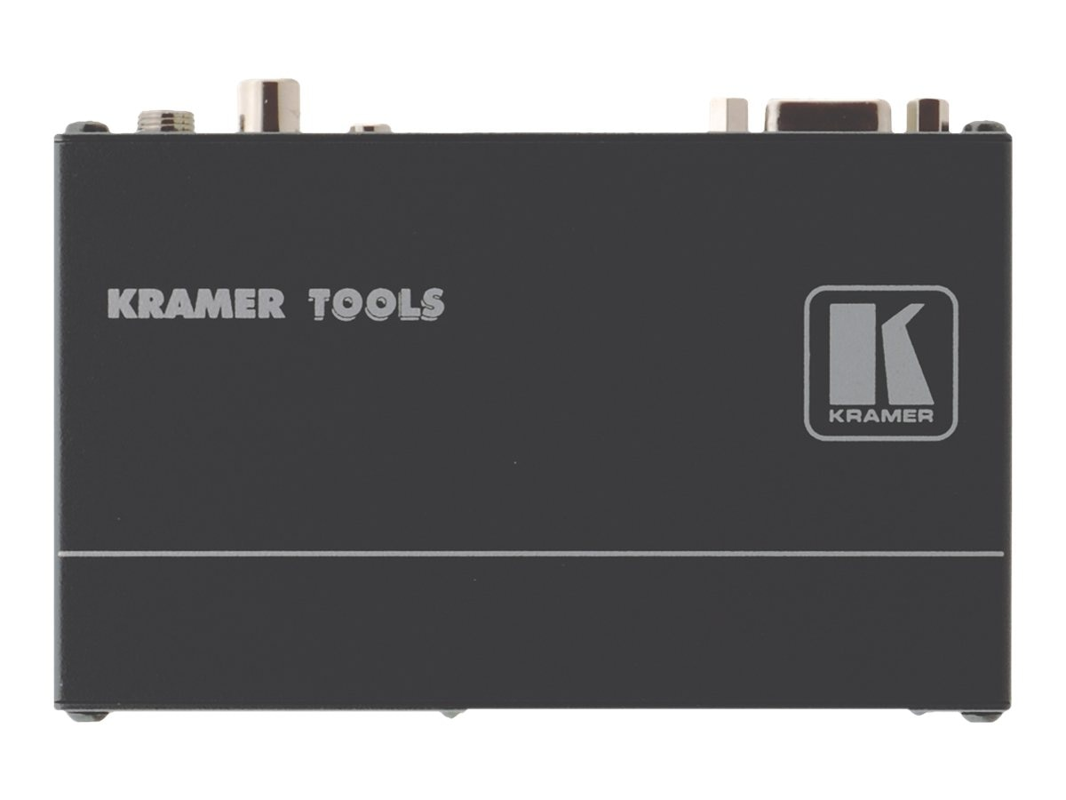 Kramer Computer Graphics Video and Stereo Audio over Twisted Pair Receiver, TP-122XL, 30628392, Video Extenders & Splitters