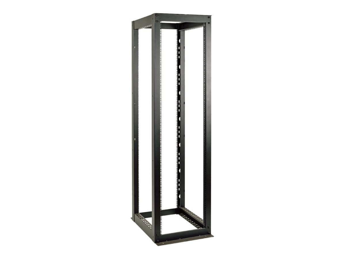 Tripp Lite SmartRack 4-Post Open Frame Rack, 48U, Heavy-Duty, SR4POST48HD, 20794397, Racks & Cabinets