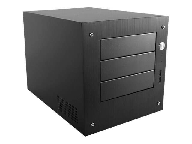 iStarUSA S-35EX Compact Stylish 3x 5.25 Bay mini-ITX Tower, S-35EX