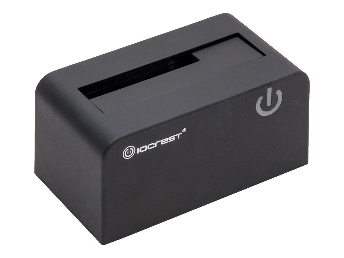 Syba IO Crest USB 3.0 Docking Station for 2.5 3.5 SATA Hard Drives, SI-ENC50070