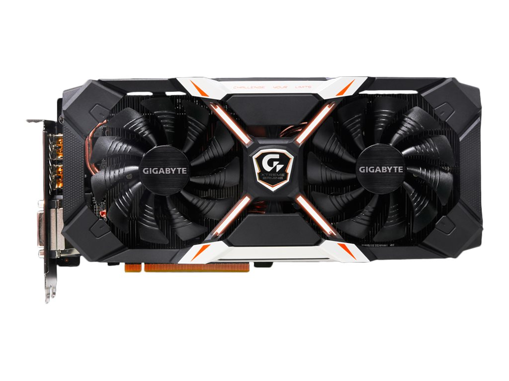 Gigabyte Tech GTX 1060 PCIe Graphics Card, 6GB GDDR5, GV-N1060XTREME-6GD
