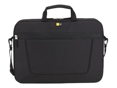 Case Logic 15.6 Top Load Laptop Briefcase, Black, VNAI-215BLACK, 13663381, Carrying Cases - Notebook