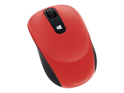 Microsoft Sculpt Mobile Mouse, Flame Red, 43U-00023, 15792637, Mice & Cursor Control Devices