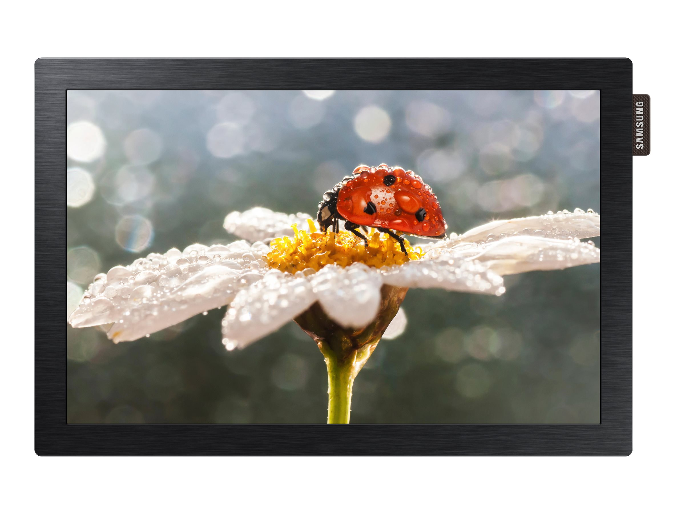 Samsung 10.1 DBE-POE LED-LCD Display, Black