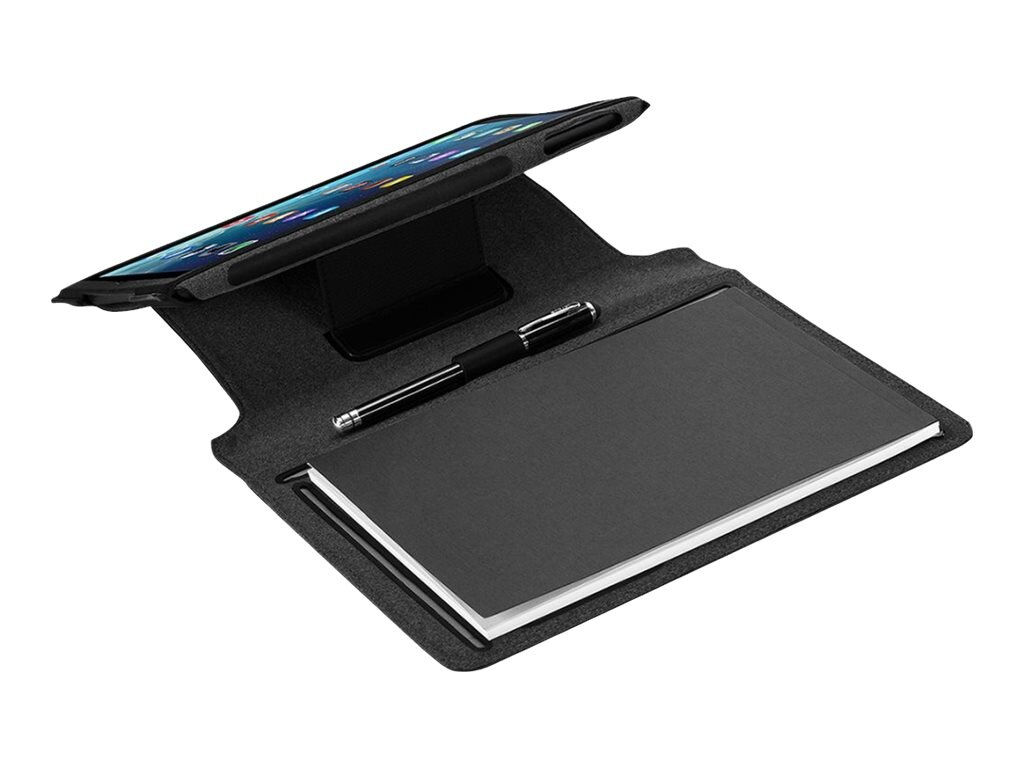Targus Notepad Folio for iPad Air 5th Generation 9.7, Noir Black, THZ187US, 16282508, Carrying Cases - Tablets & eReaders