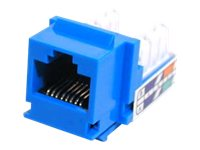 Belkin Cat5e 110 (RJ-45) Modular Jack, blue, C-IN8-5E-BL, 227025, Premise Wiring Equipment